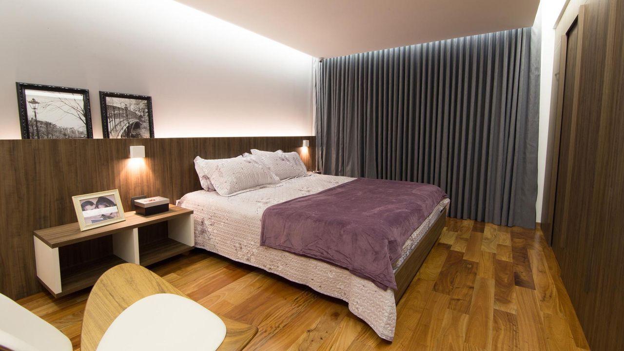 Cortinas para quarto artlux cortinas e persianas - Cortinas para cama ...