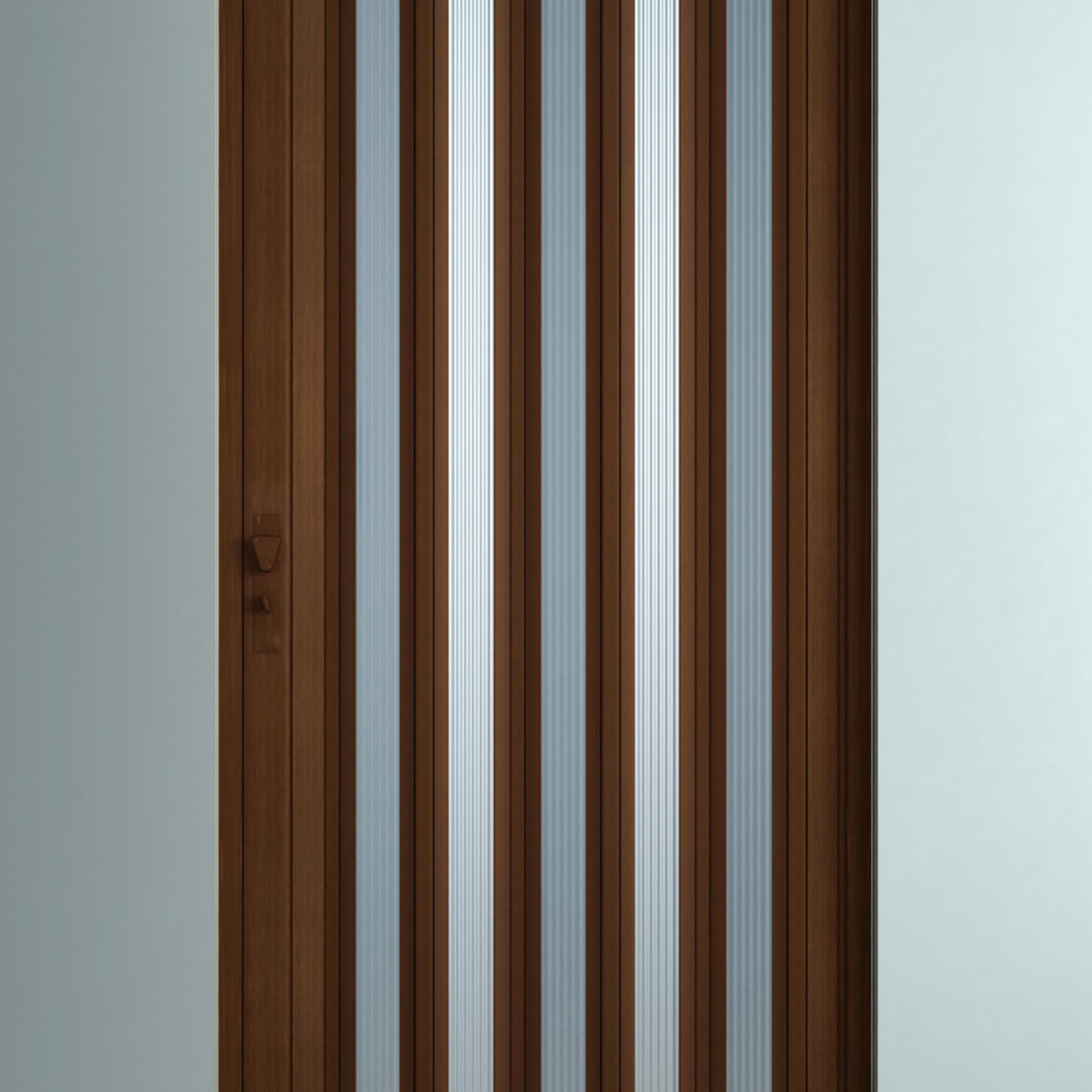 Porta Sanfonada Em Pvc 3 Artlux Cortinas E Persianas ~ Porta Sanfonada Para Cozinha