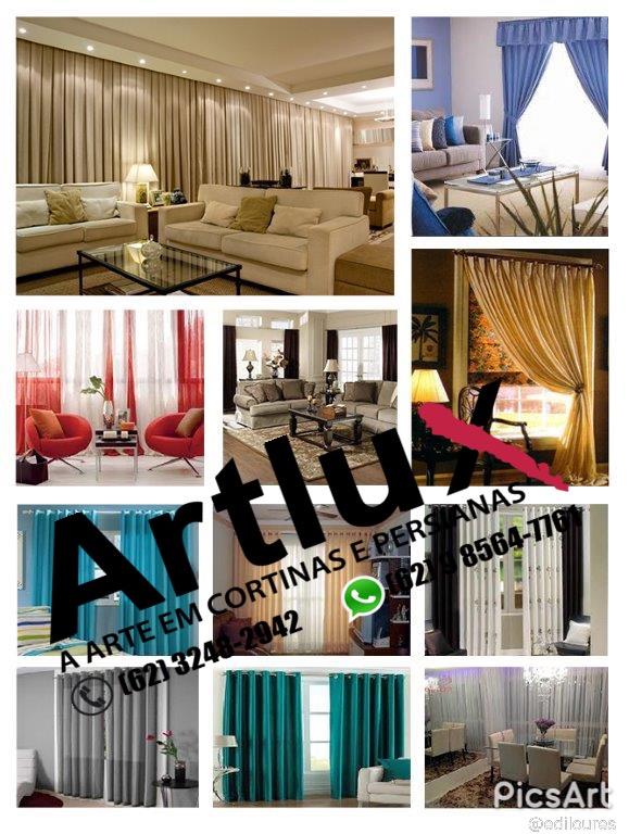 A melhor casa das cortinas em Goiânia - Cortinas Modernas - Cortinas sob medida