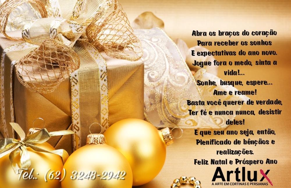 Cartão de Natal - Artlux