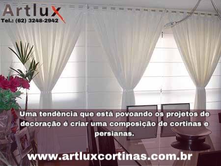 Artlux Cortinas e Persianas - (62) 3248-2942