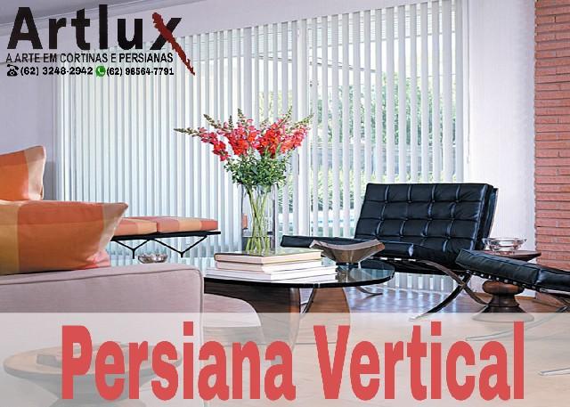 Loja de Persianas Verticais - Loja de Cortinas | em Goiânia www.artluxcortinas.com.br | artluxabc@gmail.com | (62) 3248-2942