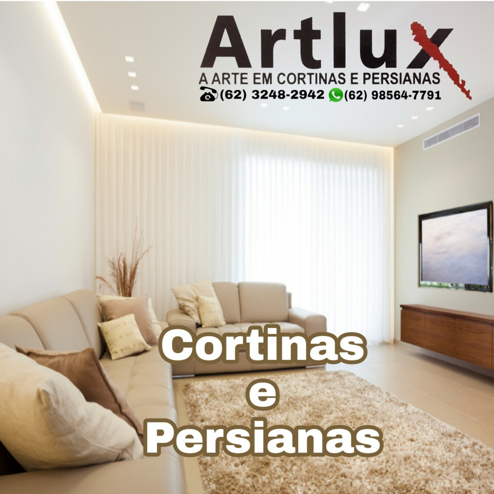 Cortinas Goiania - Artlux