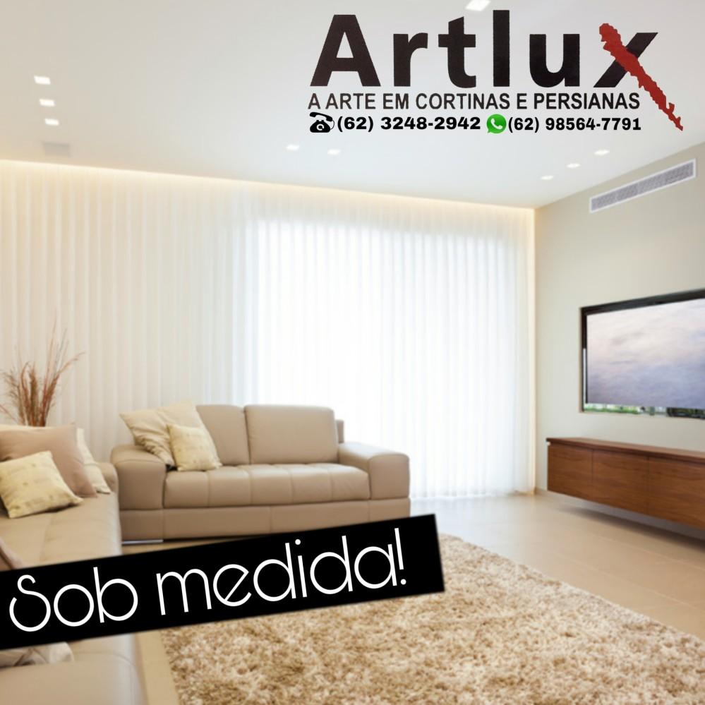 Cortinas Goiânia - Artlux (62) 3248-2942
