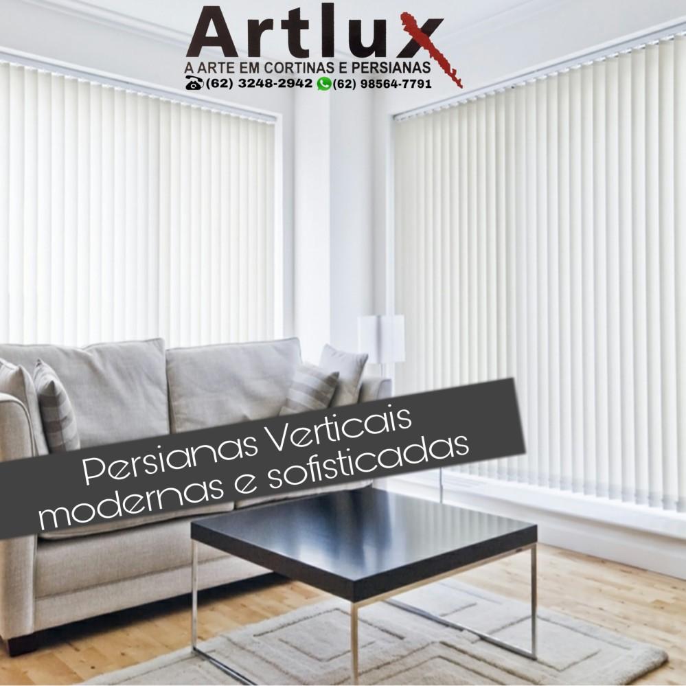 Persianas Verticais - Artlux