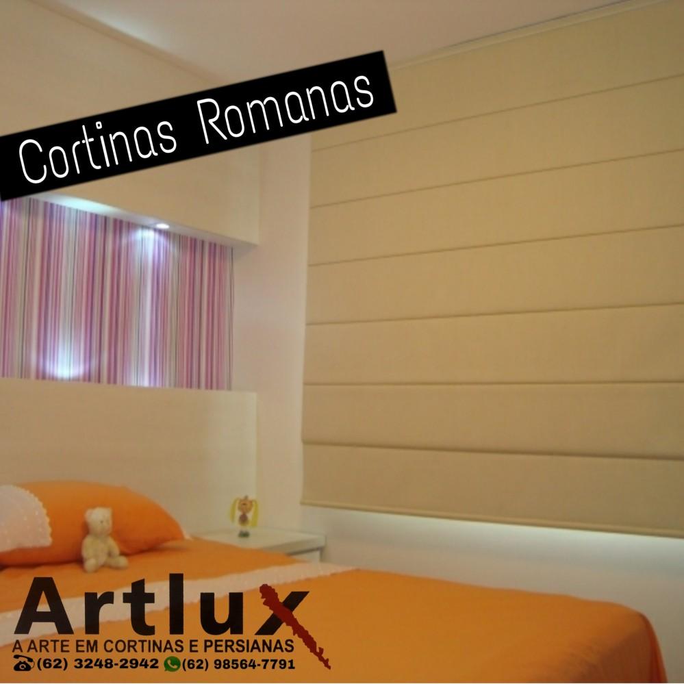 Cortinas Romanas -Artlux (62) 3248-2942