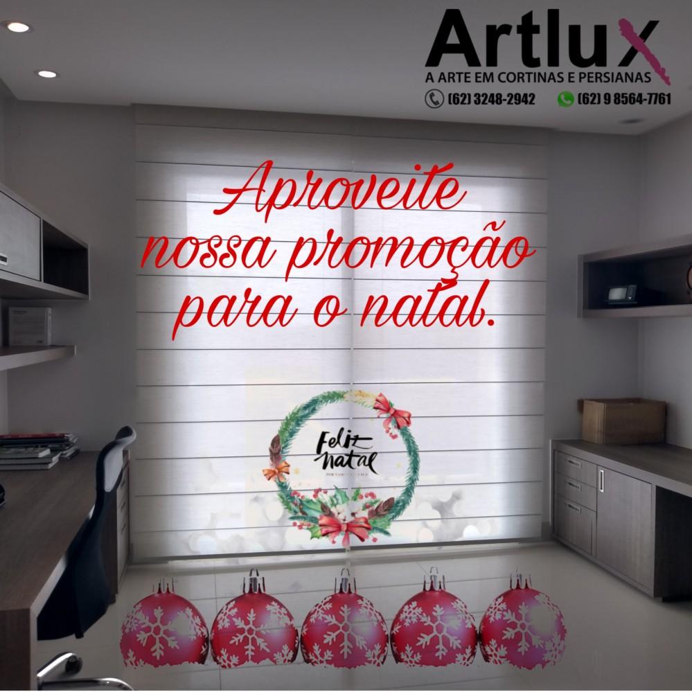 Artlux Cortinas promoção de Natal
