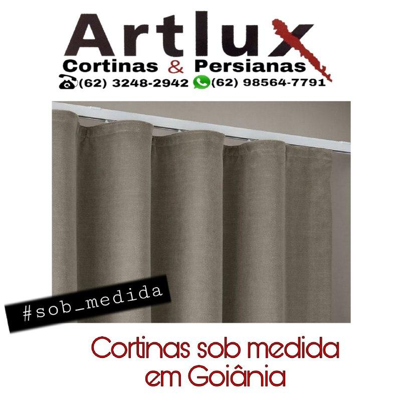 Cortinas sob medida em Goiânia - Cortinas de tecido modernas