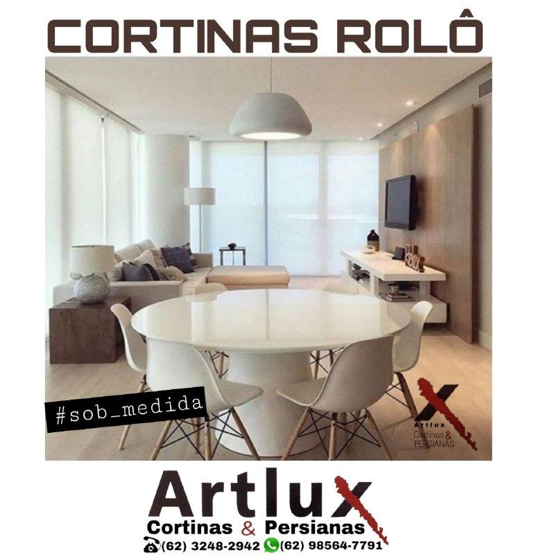 |Cortina Rolô tela solar|Cortinas e Persianas Artlux|