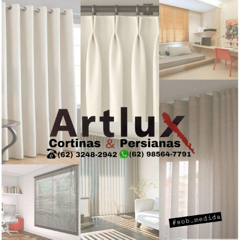 Cortinas e Persianas em Goiânia - Artlux