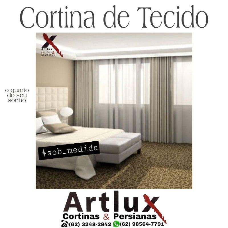 Home - Artlux - Cortinas e Persianas em Goiânia