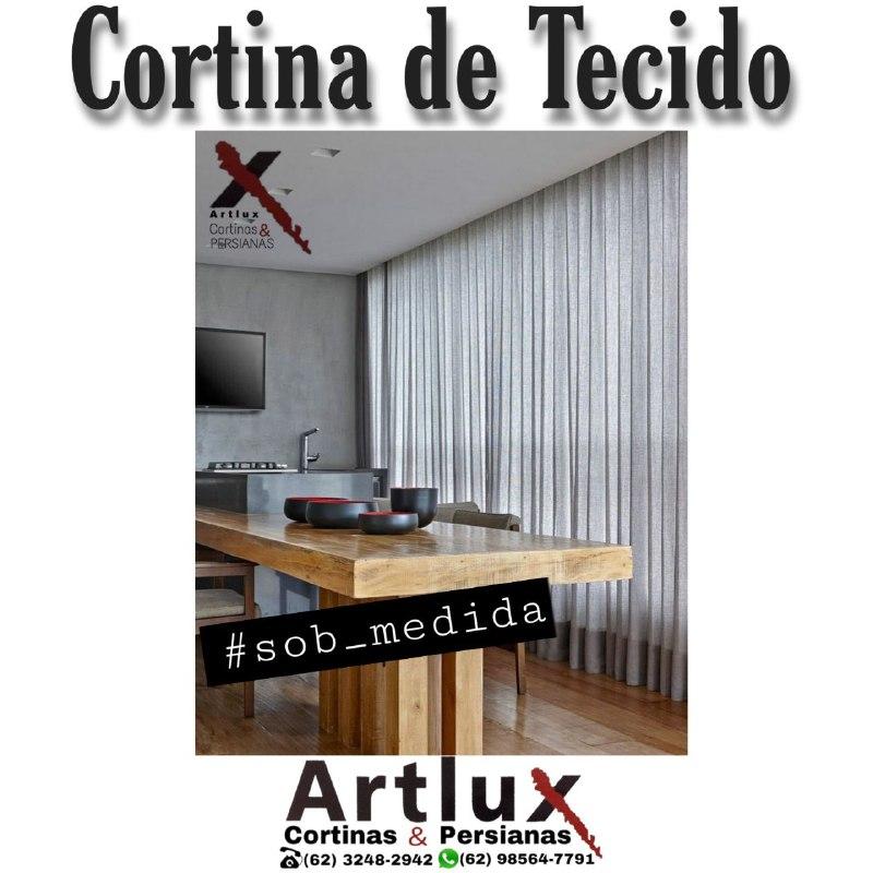 Artlux | A casa das cortinas sob medida em Goiânia