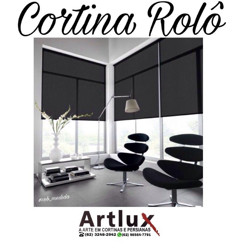 Cortinas e Persianas varios | Modelos e cores | artluxcortinas.com.br