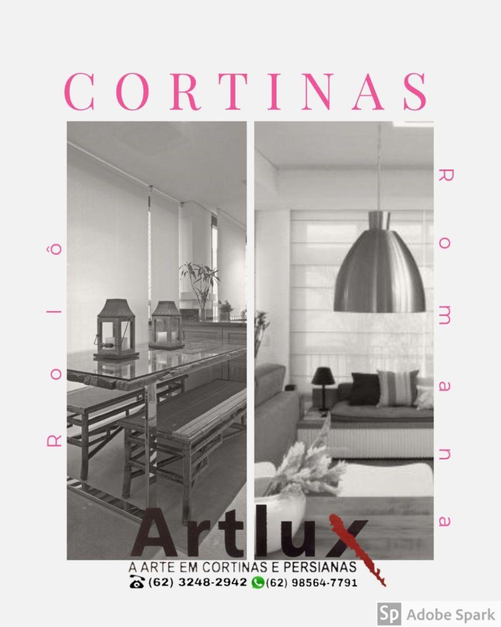 Transformando tecido em uma obra de Arte - Artlux Cortinas e Persianas
