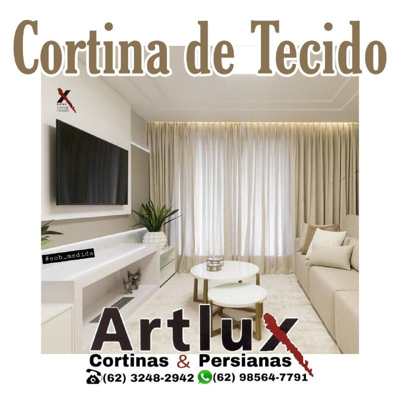 Cortinas De Tecido em Promoção nas Lojas Artlux Cortinas e Persianas