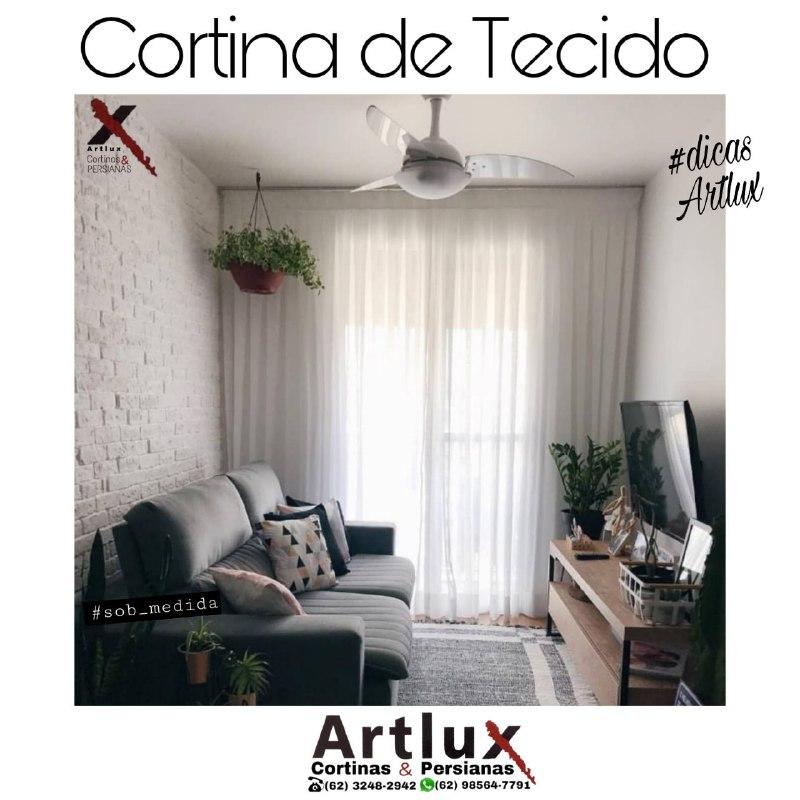 Cortinas de Tecido em Goiânia - Artlux