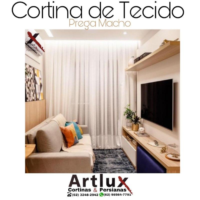 Cortinas de Tecido|sob medida | Artlux Cortinas e Persianas