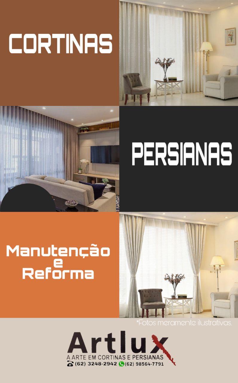 Cortinas Persianas - Fábrica | Sob medida - todos ambientes