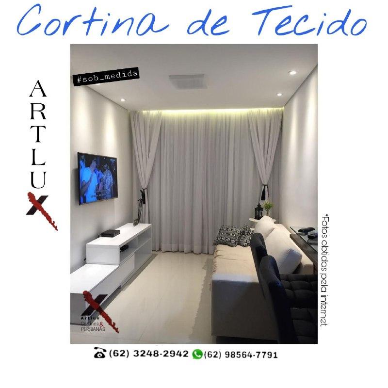 Modelo de Cortinas - Artlux Cortinas e Persianas