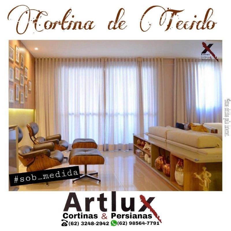 Cortinas De Tecido em Promoção na Loja Artlux Cortinas e Persianas