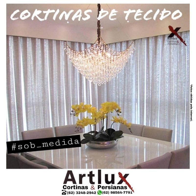 Artlux | Cortinas de Tecido | em Goiânia