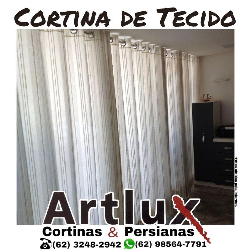 Cortinas de Tecido - Dicas Artlux Cortinas Goiania
