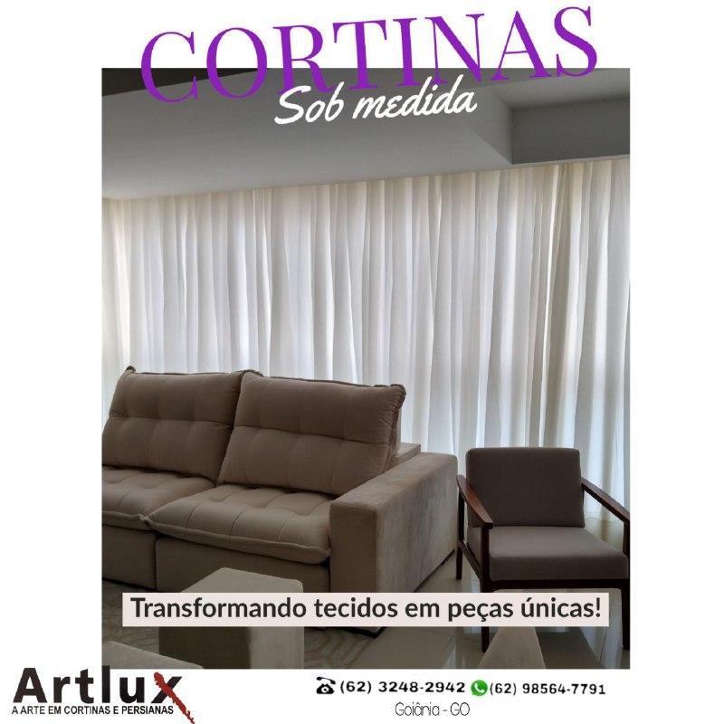 Cortinas para Sala Ficar um Ambiente Lindo - Dicas Artlux Cortinas