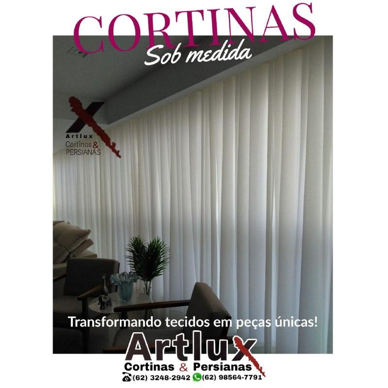 Cortinas para sala: saiba como escolher o modelo perfeito para você | Artlux Cortinas.