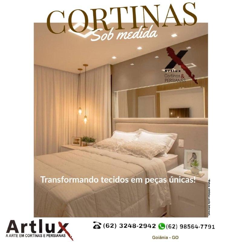 Cortinas: como escolher o tecido, tipo e tamanho sem errar - Dicas Artlux Cortinas em Goiânia - GO