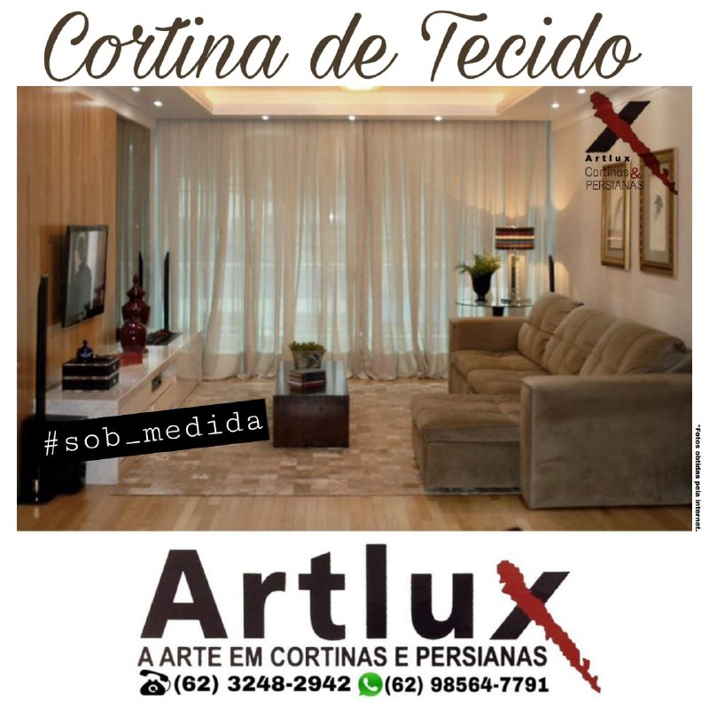 Tecido para cortina: conheça os principais tipos e inspirações de ambientes - Cortinas de tecido em Goiânia - GO