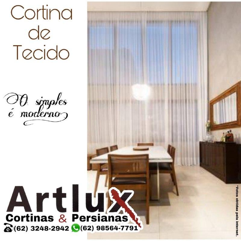 Cortinas de Tecido em Goiânia - sob medida | Artlux Cortinas