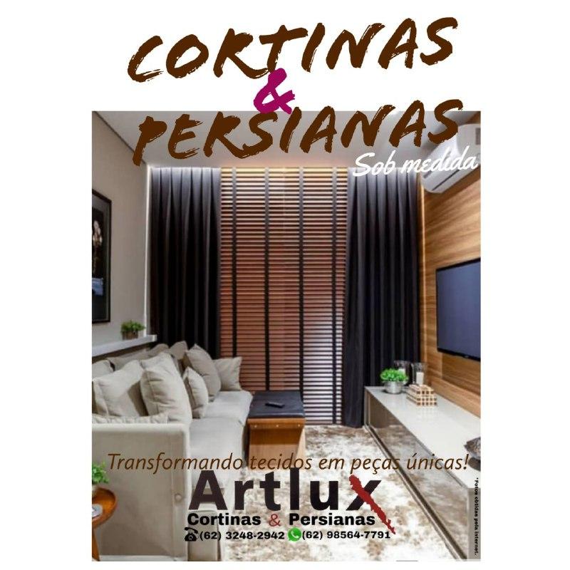 CORTINAS E PERSIANAS JUNTAS NA DECORAÇÃO - Artlux Cortinas e Persianas