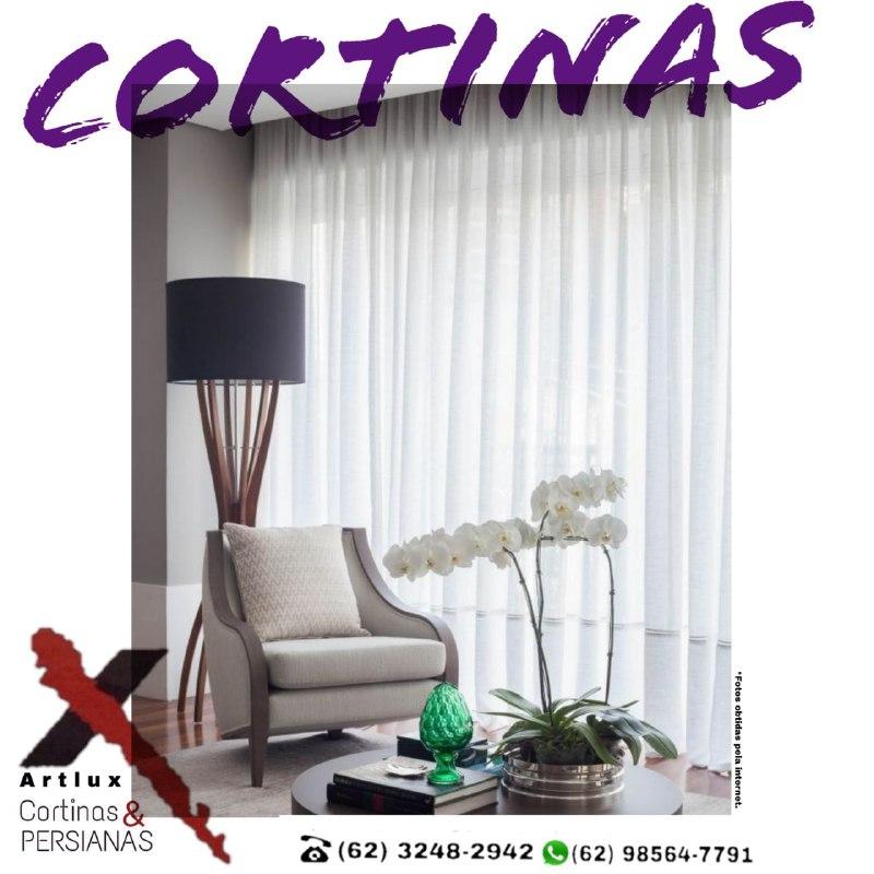 Cortinas elegantes que proporcionam mais charme a sua casa - Artlux Cortinas e Persianas