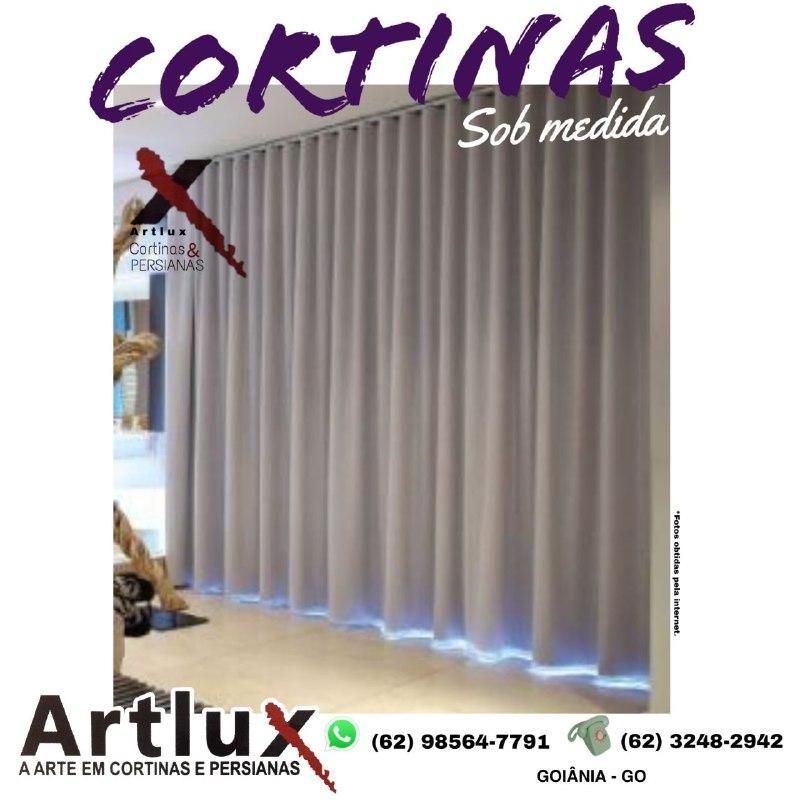 O charme das cortinas de tecido - Cortinas em Goiânia - GO