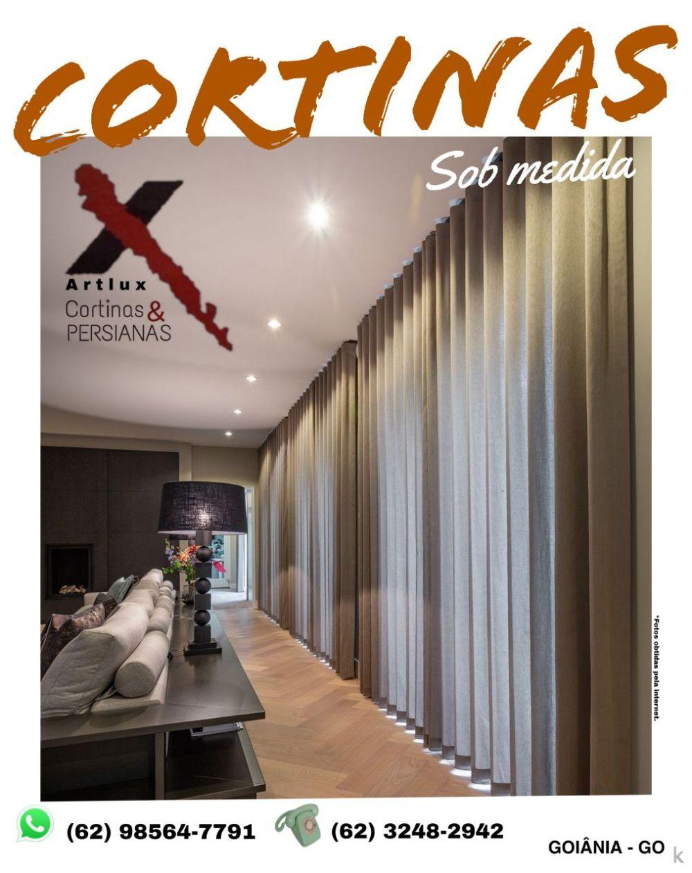 Cortinas em Goiânia |Cortinas de Tecido - Artlux