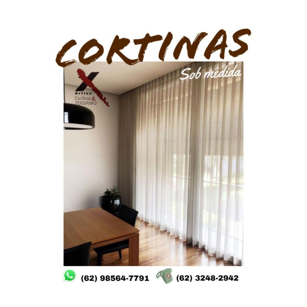 Cortina de Tecido | Fabricação Própria | artluxcortinas.com.br