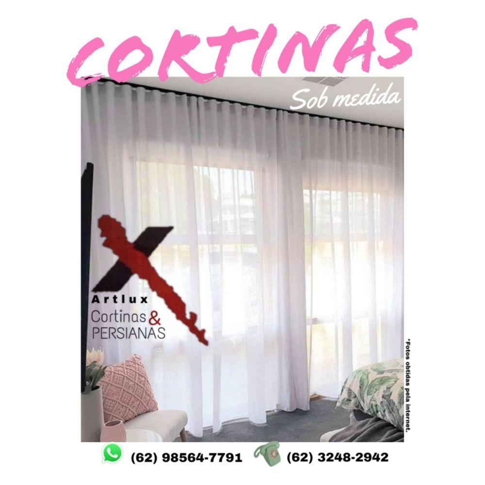 Cortinas Modernas De Tecidos | Goiânia e Região - GO - Cortina e inspirações de ambientes decorados