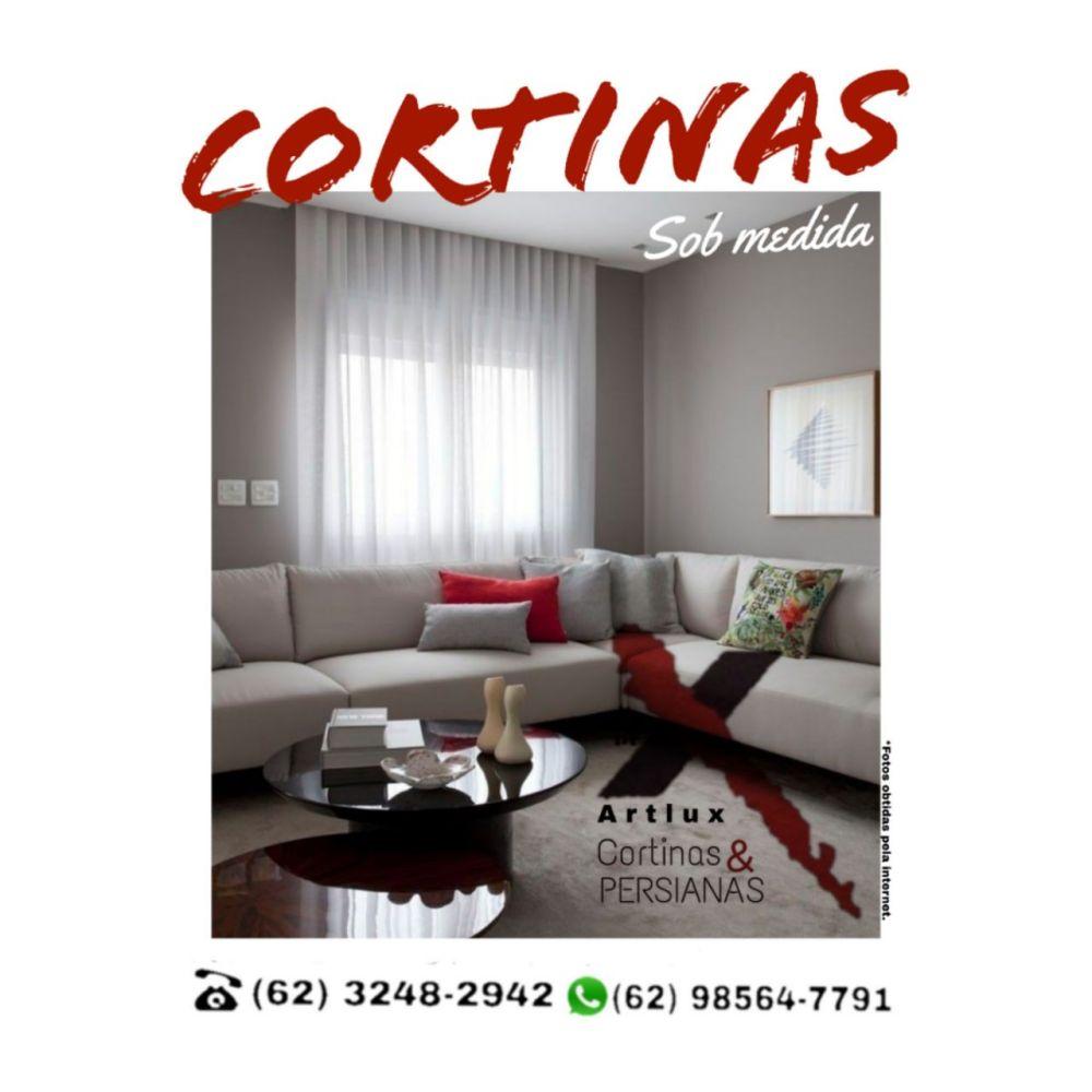 Cortinas de Tecido em Goiânia | Artlux Cortinas