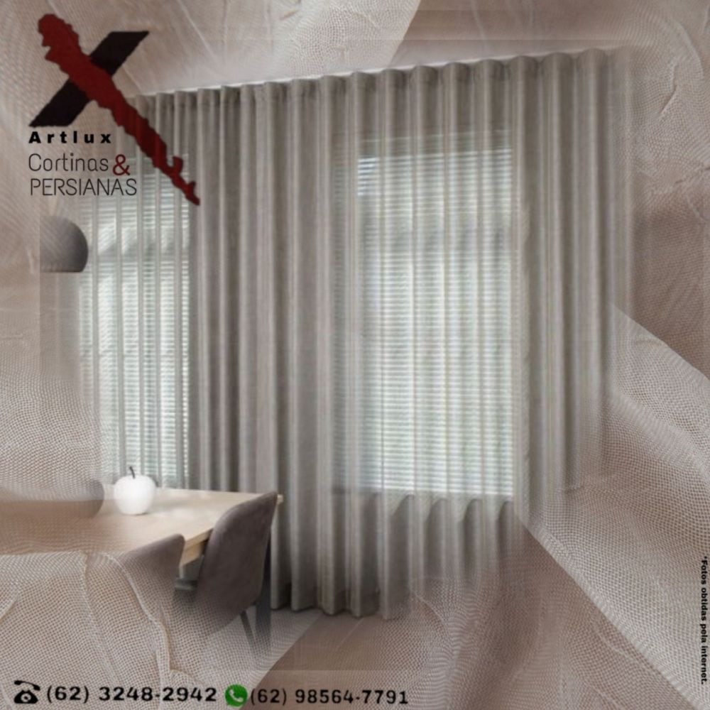 Home - Artlux Cortinas - Cortinas e Persianas em Goiânia