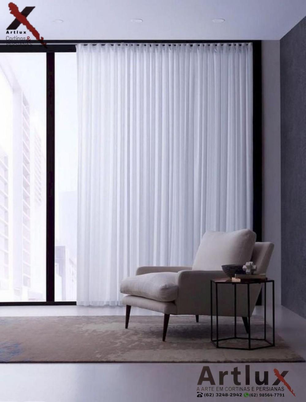 Fabricação de Cortinas | Trabalhamos com vários modelos de cortina