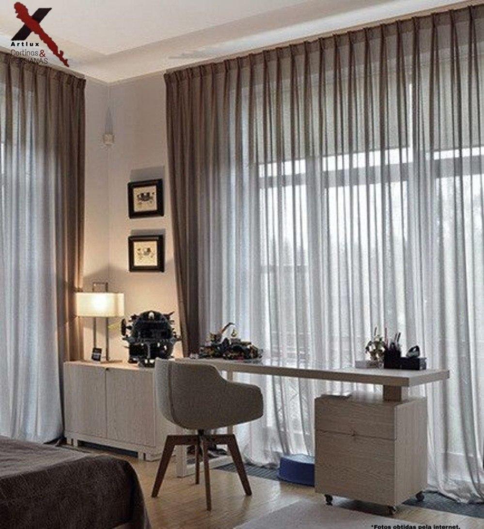 Tipos de cortinas e ideias | Cortinas em Goiânia