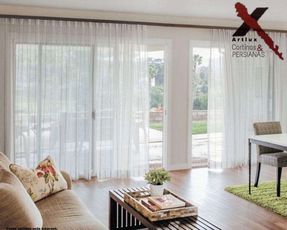 Modelo de Cortinas de tecido - Artlux Cortinas em Goiânia